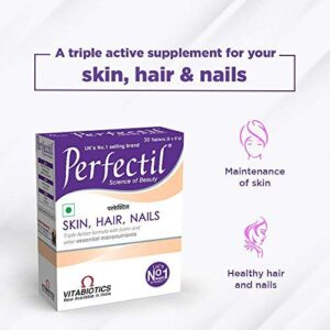 Vitabiotics Perfectil Skin, Hair & Nails Multivitamin Supplement